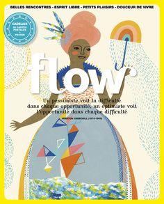 Flow - Magazine for Paper Lovers Magazine Shop, Magazine Art, Magazine Design, Magazine Covers, Magazine Illustration, Book Illustration, Trauma, Tea And Books, Communication Design