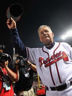Manager Bobby Cox of the Atlanta Braves