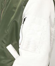 GANRYU Men's(ガンリュウ メンズ)の2015-16FW スタジアムMA-1(ブルゾン)|詳細画像