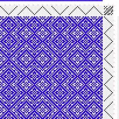проект изображения: потоки проекта от Дробного профиля, Tieup: Крис Bruland, проект #102, 8П, 8Т