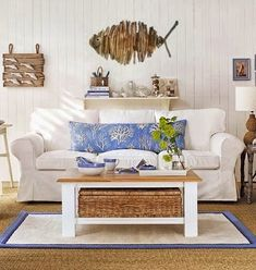 Decorating with Wicker Baskets -Stylish Storage with a Beach Vibe