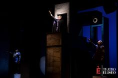 Il Grande Dittatore | regia Giuseppe Marini e Massimo Venturiello | con Tosca e Massimo Venturiello | Teatro Eliseo, dal 16 febbraio al 6 marzo 2016 | Ph. Sarah Rubbera
