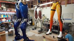 """In the days preceding the launch of Overwatch, enormous statues of Tracer, Pharah, and Genji hit the streets of Hollywood, Paris, and Busan. Aiman Akhtar, a 3D Artist at Alliance Studio, has provided a behind-the-scenes glimpse at their construction from concept to finished product. The process of creating the """"Colossal Collectible"""" statues involved work in …"""
