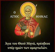 Sf.Mare Mucenic Mina.icon orthodox