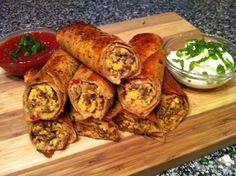 Low Carb - Spicy Sausage Breakfast Taquitos    https://www.facebook.com/pages/Peace-Love-and-Low-Carb/167748223291784    www.peaceloveandlowcarb.com