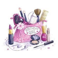 47 Super ideas birthday ilustration girl pin up Happy Birthday Quotes, Happy Birthday Greetings, Birthday Makeup, Girl Birthday, Farmasi Cosmetics, Makeup Themes, Makeup Illustration, Makeup Artist Logo, Happy B Day