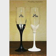 Bridegrooms 'glasses