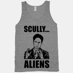 Ancient Aliens brought to you by our favorite paranoid FBI detective- Fox Mulder. Because... Scully. Aliens.