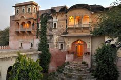 Ninder Mahal at Jaipur. So lucky to be staying.