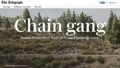 Chain gang, the Telegraph