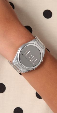 Marc by Marc Jacobs  Chuck Digital Watch $175