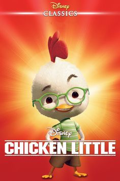 Watch Chicken Little FULL MOVIE Sub English Chicken Little, Comedy Films, Save The Day, Hd 1080p, Sci Fi, Animation, Fantasy, Adventure, Disney