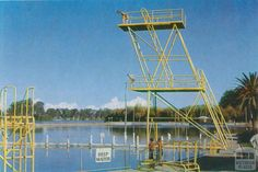 Diving Tower   Raymond West Swimming Pool   Shepparton