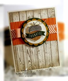Sep 2015 Me, My Stamps and I: Simply Simple; Acorny Thank You, Acorn Builder Punch, Hardwood Fall Cards, Winter Cards, Holiday Cards, Stampin Up Karten, Stampin Up Cards, Scrapbooking, Scrapbook Cards, Halloween Cards, Fall Halloween