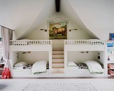 Small Bedrooms Interior Design Ideas For Small Spaces Compact Bunk Beds Bedroom. Kids Bunk Beds With Slide Bunk Bed With Slide For. Bunk Beds With Loft Spaces, Kid Spaces, Small Spaces, Small Rooms, Bunk Beds Built In, Kids Bunk Beds, Loft Beds, Bed Photos, Bunk Rooms