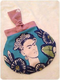 "Sac Kocotte ""Frida Kahlo"" cousu par P'tite Isa - patron www.sacotin.com"