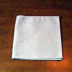 Complete instructions on how to make a classic fold for use with napkin rings. Napkin Ring Folding, Napkin Rings, Napkins, Thanksgiving, Classic, House, Ideas, Derby, Thanksgiving Tree