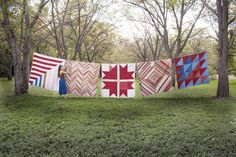 Folk Fibers - handmade naturally dyed quilts