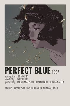 Aesthetic Movies, Aesthetic Anime, Poster Wall, Poster Prints, Poster Anime, Anime Reccomendations, Anime Suggestions, Film Poster Design, Blue Anime