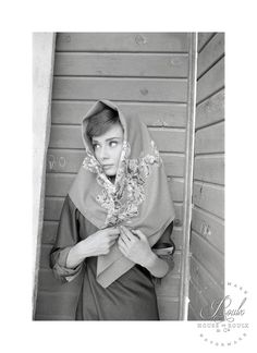 Audrey Hepburn (by Milton Greene) - Limited Edition, Archival Print