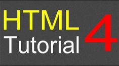 HTML Tutorial for Beginners - 04 - Creating a table Learn Html, Learn To Code, Web Page Development, Escape Character, Introduction To Html, Html Tutorial, First Web Page, Learning Web, Web Business
