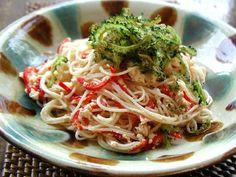 そうめんレシピ「グルメdeスローフード」 料理No.13  そうめんチャンプルー  カロチンたっぷりの野菜をふんだんに使った   目にも鮮やかなひと皿     これなら作ってみようと思われた方には詳しいレシピを  「そうめんおじさんのそうめんブログ」で公開中です。  http://www.e-somen.com/