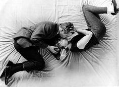 O beijo de Paul Newman e Joanne Woodward