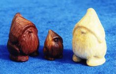 Gnomes from wood