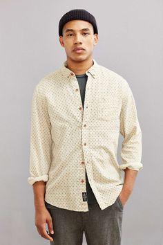 CPO Printed Diamond Dot Button-Down Shirt