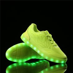 led shoes woman luminous neon basket casual shoes women men glowing with lights up simulation sole for adults unisex jordan