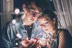 @ardillahv *couple goals with lights*/*fotos en pareja con luces*/#tumblr/ #couplegoals