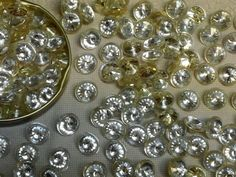 Buttons Online, Shank Button, Type 1, Rhinestones, Personalized Items, Clothing, Outfits, Outfit Posts, Kleding