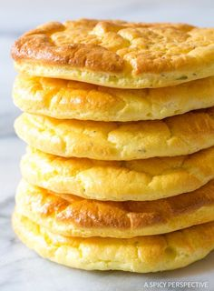 The Best Cloud Bread Recipe - Low carb, low fat, gluten free, grain free bread you can use for sandwiches on a low carb diet! You are going to love this!!
