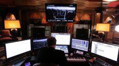 Modern film composer's setup