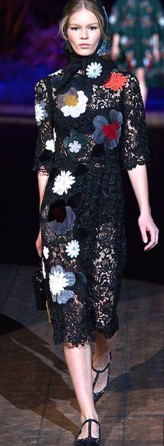 Dolce and Gabbana, 2015