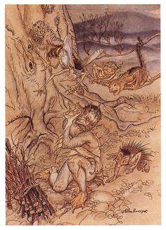 Arthur Rackham -The Tempest