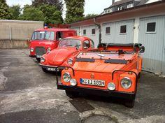 Jetzt mal in Kolonne VW Kübel 181 VW Käfer 1302 Ford Transit FK 1250