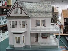 Victorias Farmhouse Assembled By The Little Dollhouse Company