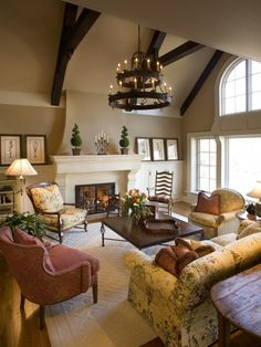 Traditional Living Room Design, Pictures, Remodel, Decor and Ideas - page 7