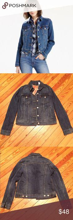 Levi's Trucker jean jacket Levi's trucker jean jacket, NWT, a true classic for your closet Levi's Jackets & Coats Jean Jackets