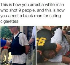 Black Lives Matter. Let's figure this out in 2017 people. We're centuries late on this.