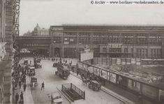 Bahnhof Friedrichstrasse (ca. 1923)