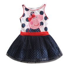 Peppa Pig Polka Dot dress