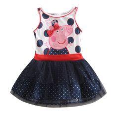 Peppa Pig Polka Dot dress                                                                                                                                                                                 Más