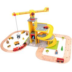 Show details for Rail & Road Multi-Level Crane Set (BJT028)