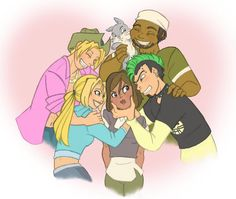 group hug! by kikaigaku on deviantART