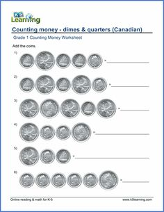 8 Best Counting Money Worksheets images   Coins, Math classroom, 2nd ...