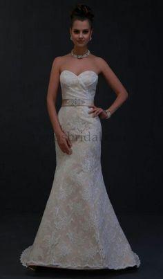 Mermaid lace trumphet skirt dress