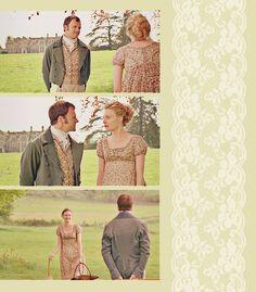 Emma and Mr.Knightley, BBC television adaptation of Jane Austen's novel. Love them!