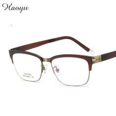 a35d6d2829a7 haoyu plastic titanium tr90 glasses frame myopia reading Optical  prescription eyewear glass frames TG9058 OS oculos -in Eyewear Frames from  Men's Clothing ...